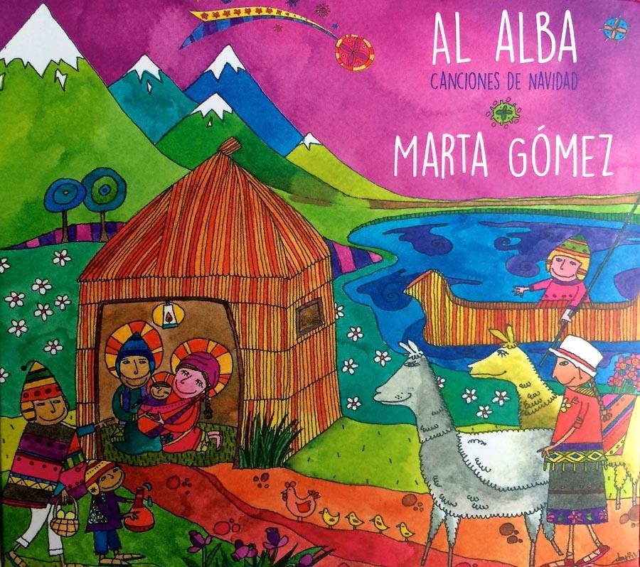 Al Alba (Marta Gómez) Grabación de algunos instrumentos de cuerda.