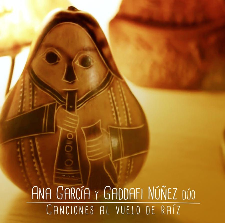 Canciones al vuelo  (Ana García y Gaddafi Núñez dúo) Grabación, mezcla y mastering.